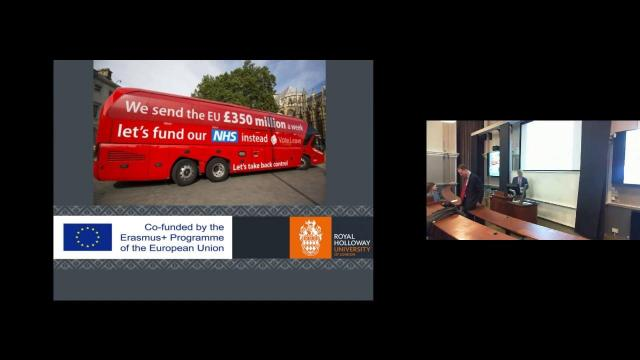 Embedded thumbnail for Inaugural Jean Monnet public lecture: £350 million per week and why Europe needs a budget